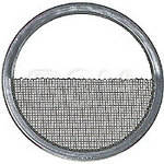 Mole-Richardson Half Double Stainless Steel Scrim - 9""