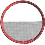 "Mole-Richardson 4-7/16"" Half Double Wire Scrim"