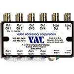 Vac 1x4 Composite Video Distribution Amplifier