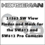 Horseman Viewfinder Mask for SW-612 Cameras