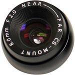 "Marshall Electronics V-4408.0-2.0-HR 1/3"" M12 Mount 8mm f/2.0 Hi-Res Miniature Lens"