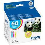 Epson 68 High-Capacity Multi-Pack Color DURABrite Ultra Ink Cartridges