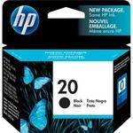 HP 20 Black Inkjet Print Cartridge