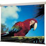 "Draper 207135 Luma Manual Front Projection Screen with Auto Return (60x60"")"