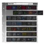 Pana-Vue 35mm Negative Pages (7 Strip/6 Frame, 25 Pages)