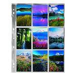 Pana-Vue 120 Archival Negative Page (Single Frames Up To 6x7, 25 Pages)