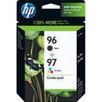 HP 96/97 Combo-pack Inkjet Print Cartridges
