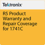 Tektronix R5  Product Warranty and Repair Coverage for 1741C