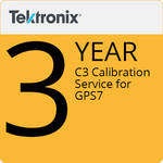 Tektronix C3  Calibration Service for GPS7