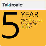 Tektronix C5  Calibration Service for HD3G7