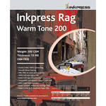 "Inkpress Media Rag Warm Tone 200 Paper (8 x 10"", 25 Sheets)"