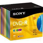 Sony 20DMR47RX4 DVD-R Recordable Disc (Box of 20)