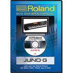 Roland DVD: Owner's Manual for Juno-G Key Synthesizer Workstation Keyboard