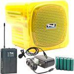 Anchor Audio AN-Mini Deluxe Package (Yellow) - PA w/ Wireless Lapel Mic & Recharge Kit