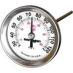 General Brand Stainless Steel Dial Thermometer (1-3/4