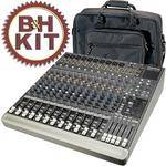 Mackie 1642-VLZ3 16-Channel Analog Audio Mixer with Bag