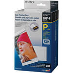 "Sony SVM-F120P/2 4 x 6"" Paper with Print Ribbon  (2 Ribbons/120 Sheets)"