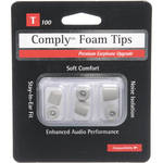 Hearing Components T-100 Foam Tips (3-Pack, S/M/L, Platinum)
