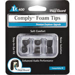 Comply Comply Tx-400 Foam Tips (Black) (Large-3 Pairs)