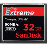 SanDisk 32GB CompactFlash Memory Card Extreme 400x UDMA