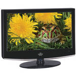 "Sharper Image 15"" LCD TV with Built-In DVD Player"