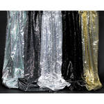 "Rosco Glame - 48""x 30' Roll - Black/Iridescent"