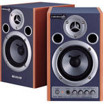 "Roland MA-15D 4"" 30W 2-Way Desktop Monitor (Pair, Blue/Natural)"
