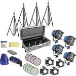 ARRI Arrilite 1000 Tungsten Four  Light Kit
