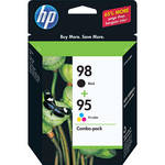HP 95/98 Twin Pack Ink Cartridges - Combo Pack (Black and Tri-Color)