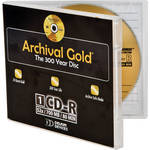 Delkin Devices 700MB Archival Gold CD-R (Jewel Case)