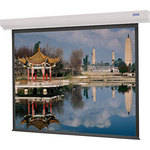 "Da-Lite Designer Contour Electrol 43 x 57"" 4:3 Screen with High Contrast Matte White Surface"