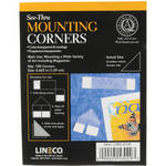 "Lineco Archival Mounting Corners - 5/8"" - Box of 100"
