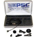 PSC MilliMic Omni-Directional Lavalier Condenser Microphone with TA4-Female Connector for Shure Transmitters