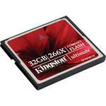 Kingston 32GB CompactFlash Ultimate 266x Memory Card