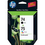 HP 74/75 Combo-pack Inkjet Print Cartridges