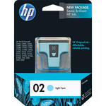 HP 02 Light Cyan Inkjet Print Cartridge (5.5ml)