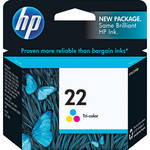 HP 22 Tri-color Inkjet Print Cartridge (5ml)