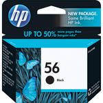 HP 56 Black Inkjet Print Cartridge (19ml)