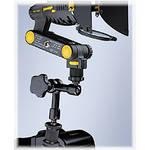 "Dedolight DLGA200 Articulating Arm with Square Male Shoe or 1/4"" Male to Camera"