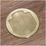 FSR T3-AC2-BRS Table Box (Round Brass Cover)