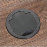 FSR T3-PC1HW-CP-BLK Table Box (Round Black Cover)