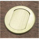 FSR T3-MJ-BRS Table Top Microphone Insert (Brass Round Cover)