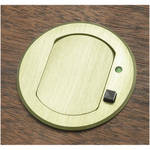FSR T3-MJ-1B-BRS Table Top Microphone Insert (Brass Cover) (1-Button/1-LED)