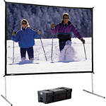 Da-Lite Heavy Duty Fast-Fold Deluxe Projection Screen (9 x 9')