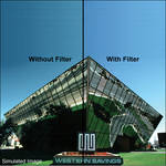"Formatt Hitech 82 Color Conversion Filter (6 x 4"")"