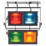 Strand Lighting Aurora 4-Way Square Cyc Light (120VAC)