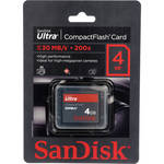 SanDisk 4GB CompactFlash Memory Card Ultra 200x