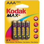 Kodak AAA 1.5V Alkaline Batteries (4 Pack)