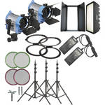 Arri H-2 Hybrid AC Kit With Wheels (120-230VAC)