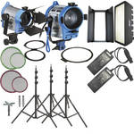 Arri H-4 Hybrid AC Kit With Wheels (120-230VAC)